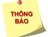 Thông báo tiếp nhận học sinh chuyển đến, trường THPT Võ Văn Kiệt