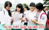 Thông báo nhận giấy báo điểm thi THPT QG 2016